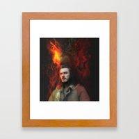 Bard the Dragon Slayer Framed Art Print