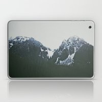 Vintage Snowy Mountain Laptop & iPad Skin