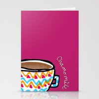 United States Of Tea Stationery Cards