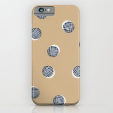 Mixed Dots - in Cocoa iPhone 6s Slim Case
