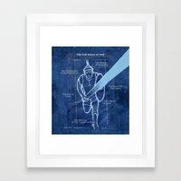 Full Armor Of God - Warr… Framed Art Print