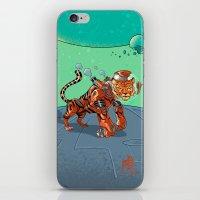 Astro Zodiac Force 03: Tiger iPhone & iPod Skin