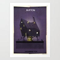 08_ARCHIDIRECTOR_tim Bur… Art Print