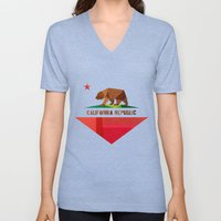 California Unisex V-Neck