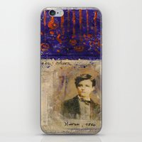 SAHARA BLUE iPhone & iPod Skin