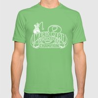 Mario Kart 8 Champion Mens Fitted Tee Grass SMALL