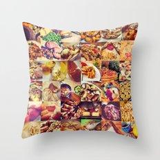 Food Porn Throw Pillow