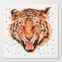 TIGER I Canvas Print