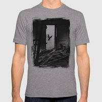 Abandoned Buildings have also Dwellers Mens Fitted Tee Athletic Grey SMALL