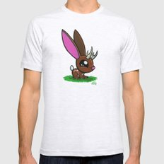 Baby Jackalope Mens Fitted Tee Ash Grey SMALL