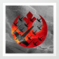 Star Wars Wraith Squadro… Art Print