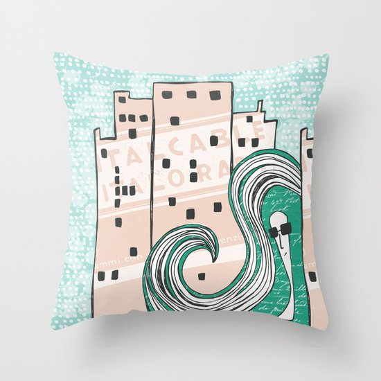 City Chic Throw Pillow