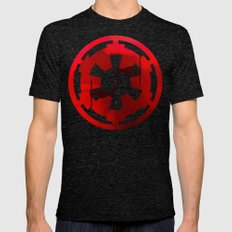 Star Wars Imperial Red T… Mens Fitted Tee Tri-Black SMALL
