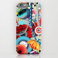 iPhone & iPod Case featuring Colorful Happy Days  by Ruth Fitta Schulz