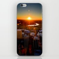 Sunset City iPhone & iPod Skin