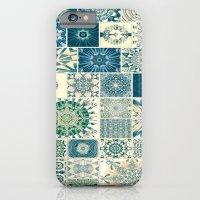 Spring pale Oriental rug iPhone 6 Slim Case
