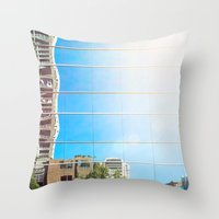 on reflection: bright. Throw Pillow