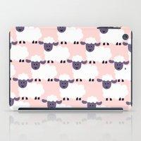 Lots Of Sheep Pink iPad Case