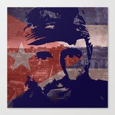 Heads of State: Fidel Castro Canvas Print