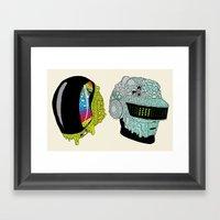Get Yucky Framed Art Print
