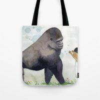 Hug me , Mr. Gorilla Tote Bag