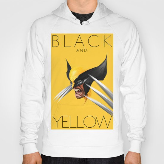 BLACK AND YELLOW Hoody