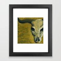Dry. Framed Art Print