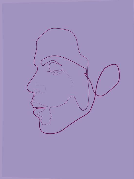one line Prince Canvas Print