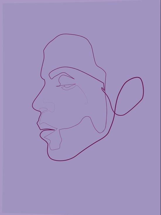 one line Prince Art Print