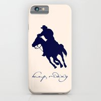 iPhone & iPod Case featuring Cowboy Outlaw by Msimioni