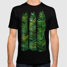 Seaweed SMALL Mens Fitted Tee Black