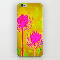 Spider Lily Flowers iPhone & iPod Skin