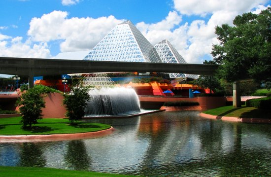 Epcot at Disney World Canvas Print