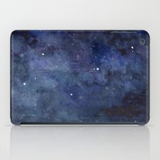 Night Sky Stars Galaxy | Watercolor iPad Case