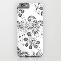 iPhone & iPod Case featuring Lace 3 by Katya Zorin