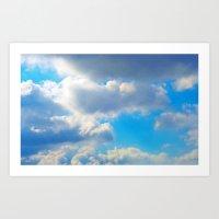 Cloud Nine Art Print