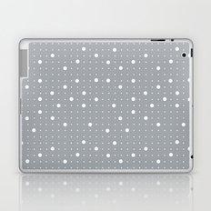 Pin Points Grey Laptop & iPad Skin
