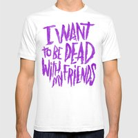 EVERY TIME I DIE Mens Fitted Tee White SMALL