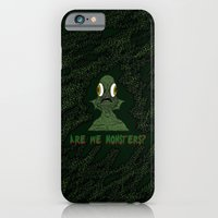 iPhone & iPod Case featuring Are we monsters? by sEndro