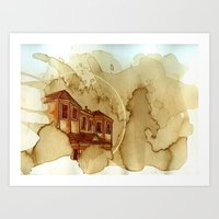 Coffee House Art Print