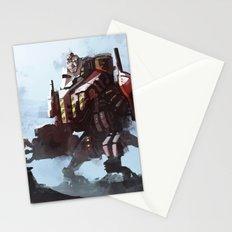 Mech walker Stationery Cards