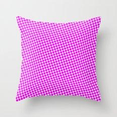 BIG PINK DOT Throw Pillow