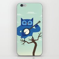 The Banjowl iPhone & iPod Skin