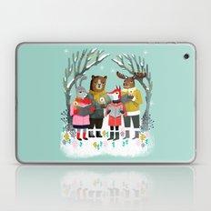Woodland Christmas Carols by Andrea Lauren  Laptop & iPad Skin