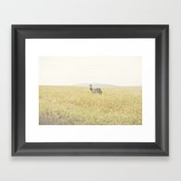 picture perfect::kenya Framed Art Print