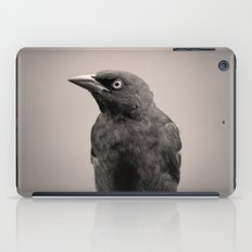 Goth Grackle iPad Case