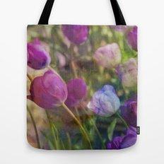 Lavender Flora  Tote Bag