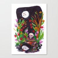 Noche de Ronda Canvas Print