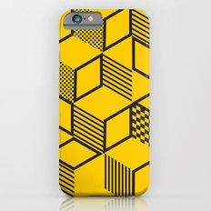 Cubes | Yellow Slim Case iPhone 6s