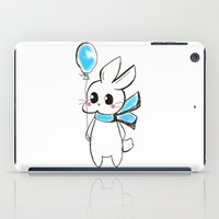 Rabbit ballon iPad Case